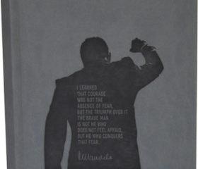 Nelson Mandela Quote Noteobook