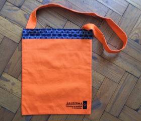 2 Tone Shopper with Shweshwe fabric