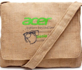 Hessian Casual Bag