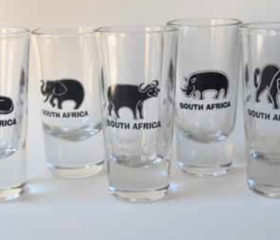 Big 5 Shot Glasses
