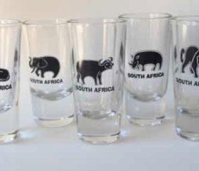 Big 5 Shot Glasses