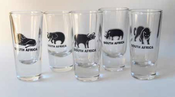 Big 5 Shot Glass Set