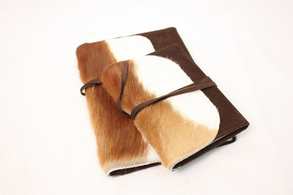 A5 Springbok Skin Notebook