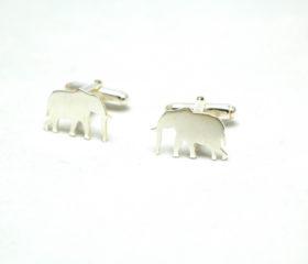 Elephant Cufflink set