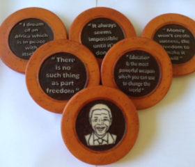 Mandela coasters