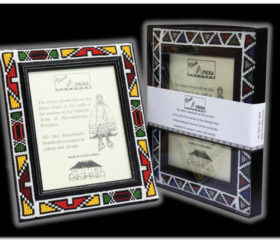 Beaded Ndebele Frame