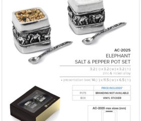 Salt & Pepper Pots elephant