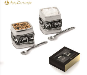 elephant salt pepper set