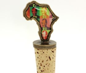 Bottle Stopper Mandela