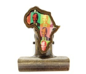 Mandela Magnetic Bulldog Clip