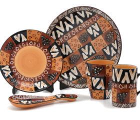 animal print ceramics