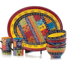 Ethnic Print ceramics