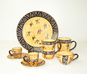 San People ceramics