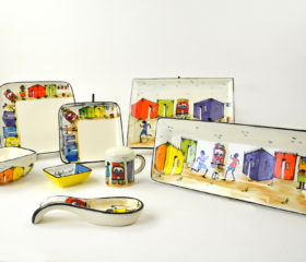 township theme ceramics