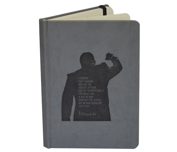 Nelson Mandela Quote Notebook