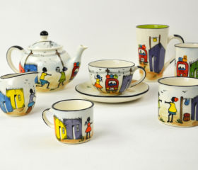 Township hand-painted ceramics