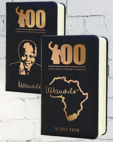 Nelson Mandela Centennial Notebook