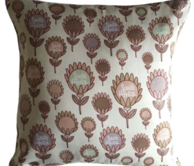 Protea Flower cushion cover