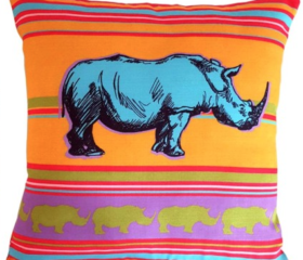 Rhino Cushion Cover
