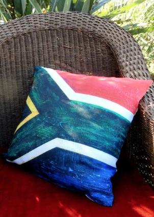 SA Flag Cushion Cover