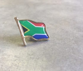SA Flag Badge