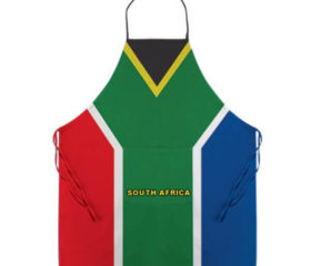 apron with sa flag