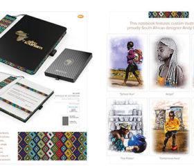 African A5 Notebook