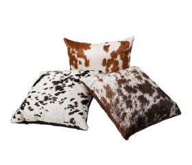 Nguni Hide cushion covers