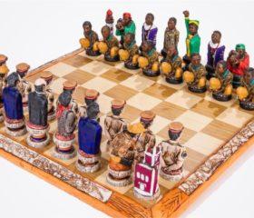 Robin Island Chess Set