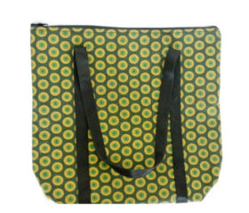Shweshwe fabric cooler bag