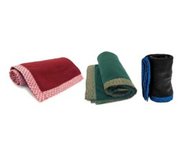 fleece shweshwe blanket