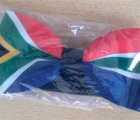 sa flag bow tie