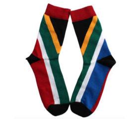 sa flag socks